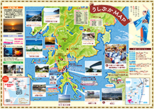 Ushibuka tour guide map